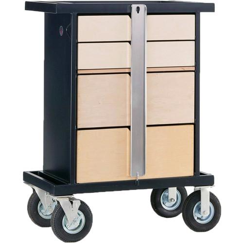Backstage Equipment Wood Work Box Cart