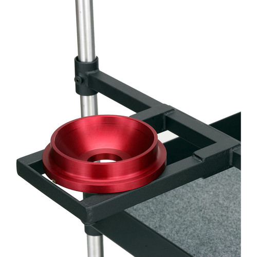 Backstage Equipment 150mm Euro Mount with Front Box Holder