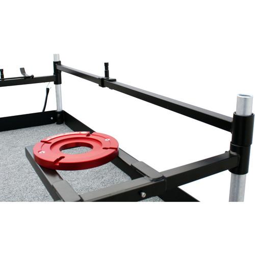 "Backstage Equipment 51"" Horizontal Cross Bar for Camera Case Cart"