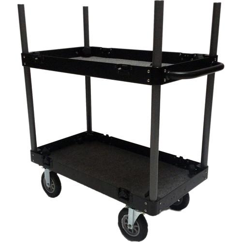 Backstage Equipment Junior Flight Case Cart (Aluminum)