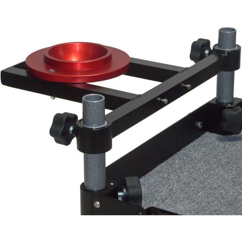 Backstage Equipment Mini Flight Case Cart 100mm Ball Mount