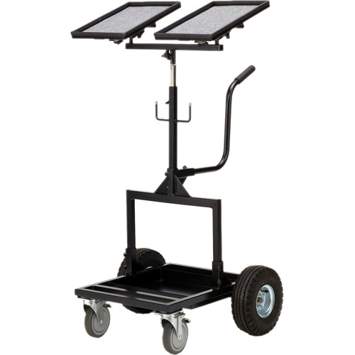 Backstage Equipment Monitor Mover Cart