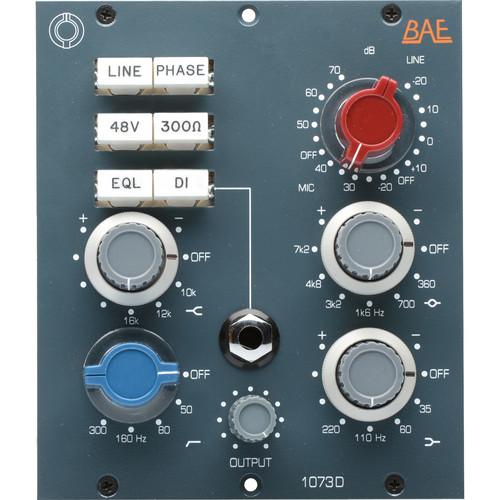 BAE 1073D Deluxe Mic Pre 500 Series Module