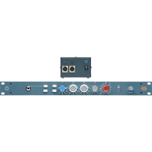 "BAE 1073 Mic Pre 19"" Rack, with Power Supply"