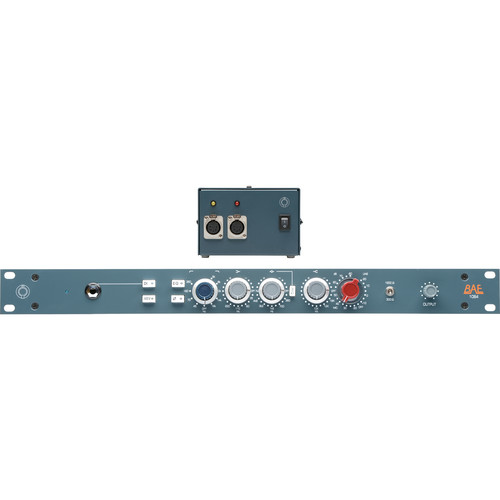 "BAE 1084 Mic Pre/EQ 19"" Rack, with Power Supply"