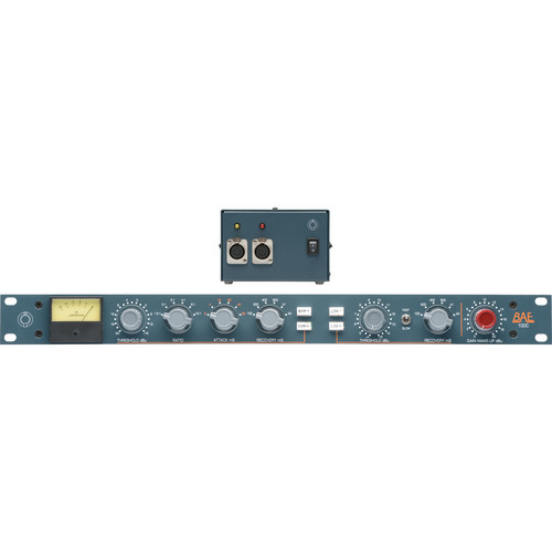 "BAE 10DC Compressor/Limiter (19"" Rackmount with Power Supply)"