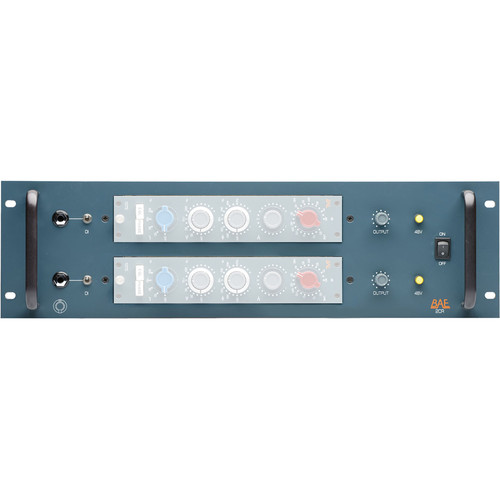 BAE 2CR 2-Channel Power Rack for Two 10-Series Modules
