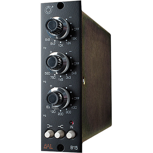 BAE B15 3-Band EQ 500-Series Module