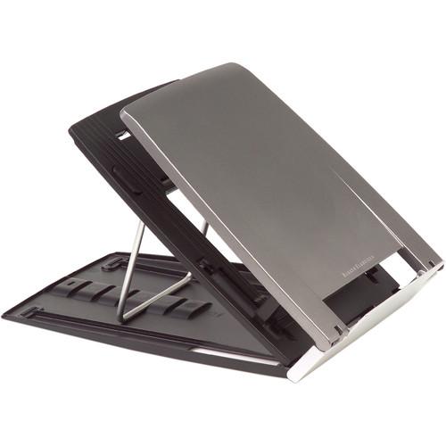 BakkerElkhuizen Ergo-Q 330 Portable Lightweight Notebook Stand with Document Holder & 6 Height Settings