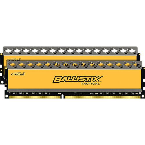 Ballistix 8GB Ballistix Tactical Series DDR3 1600 MHz UDIMM Memory Module Kit (2 x 4GB)