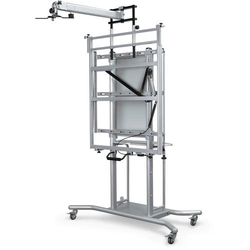 "Balt Elevation IWB Cart with Short Throw Arm (33"" Arm)"