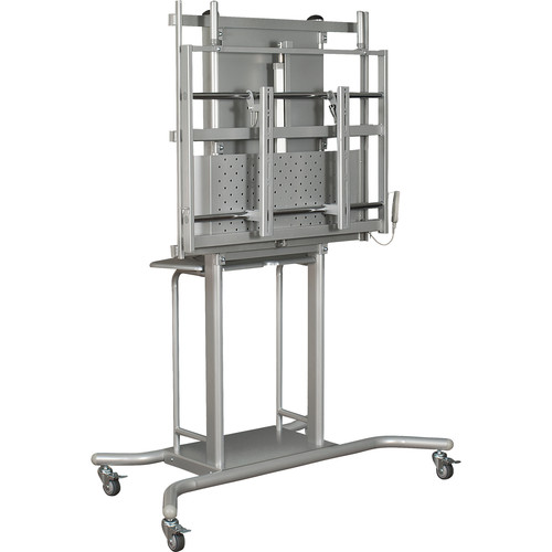 Balt iTeach Electric Height Adjustable Flat Panel Cart