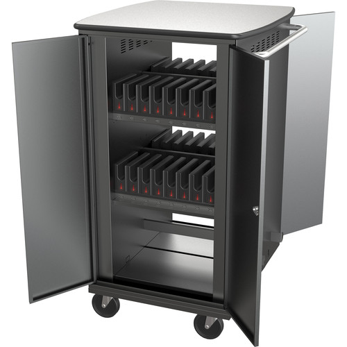 Balt iTeach High Capacity Rolling Charge Cart for 32 Tablets
