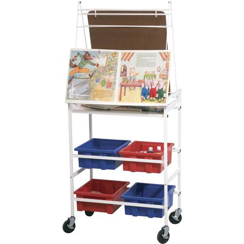 Balt Cart Wheasel Mobile Storage & Learning Easel