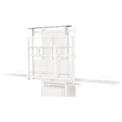 Balt Optional Speaker Shelf for the iTeach Electric Adjustable Flat Panel Cart