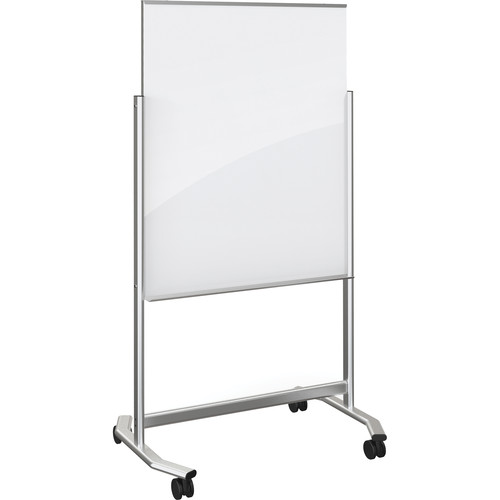 Balt Visionary Move Mobile Magnetic Glass Whiteboard (3 x 4', White)