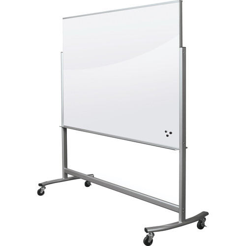 Balt Visionary Move Mobile Magnetic Glass Whiteboard (6 x 4')