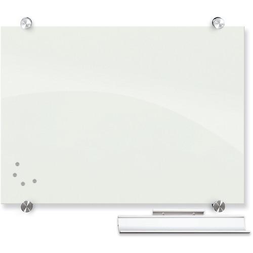 Balt Visionary Magnetic Glass Dry Erase Whiteboard (1.5 x 2', White)