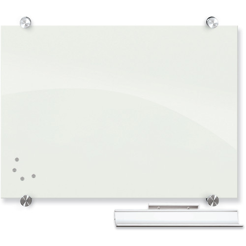 "Balt Visionary Magnetic Glass Dry Erase Whiteboard (1.5 x 2"")"