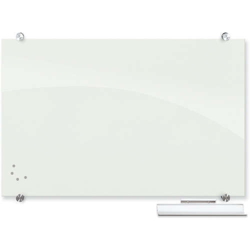 Balt Visionary Magnetic Glass Dry Erase Whiteboard (2 x 3', White)