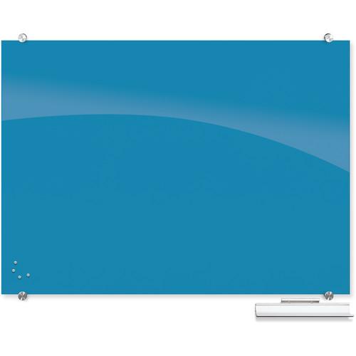 Balt 83844 Visionary Magnetic Glass Dry Erase Whiteboard (Blue)