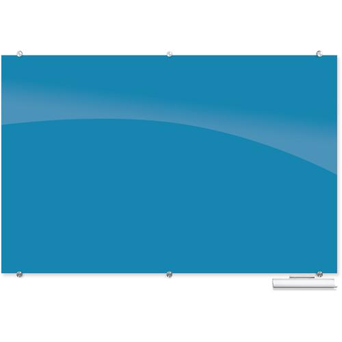 Balt 83845 Visionary Magnetic Glass Dry Erase Whiteboard (Blue)