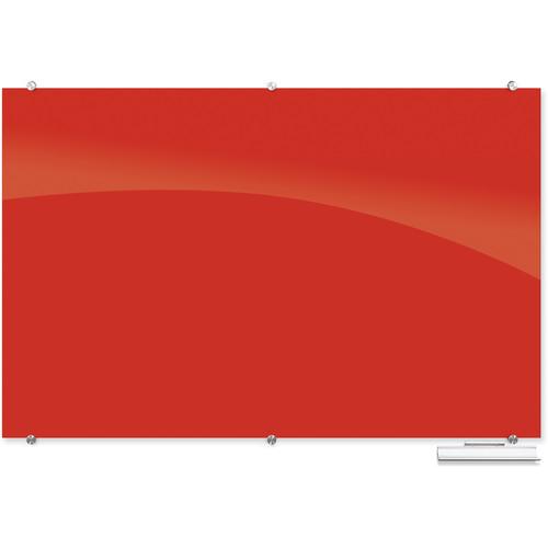 Balt 4 x 6' Visionary Glass Board (Deep Red)