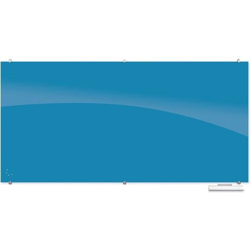 Balt 83846 Visionary Magnetic Glass Dry Erase Whiteboard (Blue)
