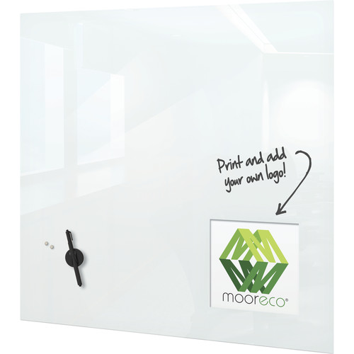"Balt 30 x 30"" Customizable Dry Erase Magnetic Glass Whiteboard"