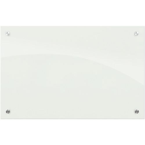 Balt Enlighten Glass Dry Erase Markerboard (2 x 1.5', Gloss White)