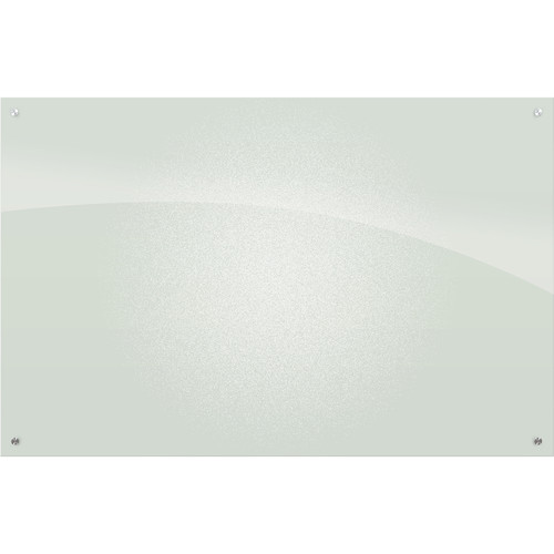 Balt Enlighten Glass Dry Erase Markerboard (6 x 4', Frosted Pearl)