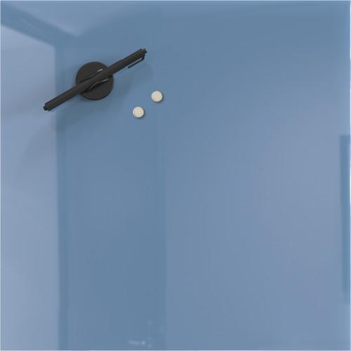 "Balt 16 x 16"" Mosaic Magnetic Glass Whiteboard (Denim Blue)"