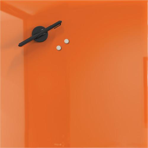 "Balt 16 x 16"" Mosaic Magnetic Glass Whiteboard (Orange)"