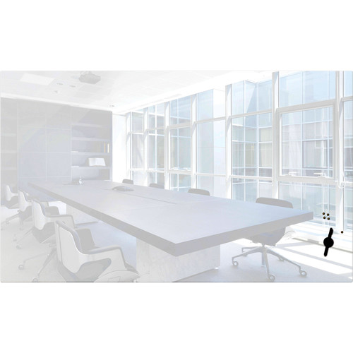 """Balt Luxe Glass 60"""" Magnetic Whiteboard with Corning Gorilla Glass"""