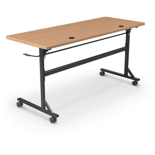 """Balt Economy Flipper Training Table (72"""", Teak)"""