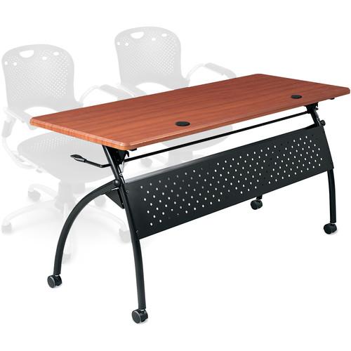 "Balt Chi Flipper Table (72"", Cherry)"