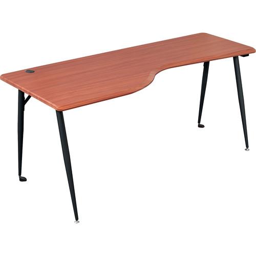 Balt iFlex Large Desk (Left, Cherry/Black)