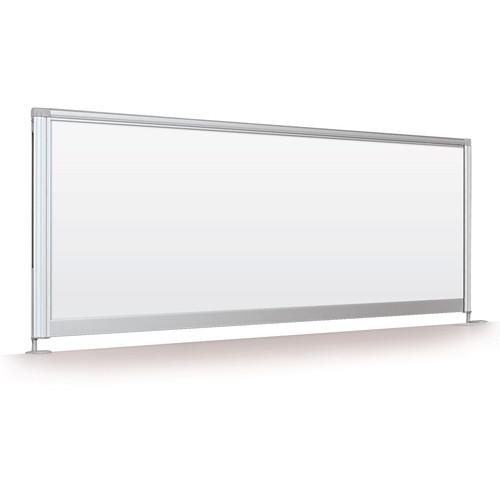 "Balt Desktop Privacy Panel (17 x 48"", Porcelain Steel)"