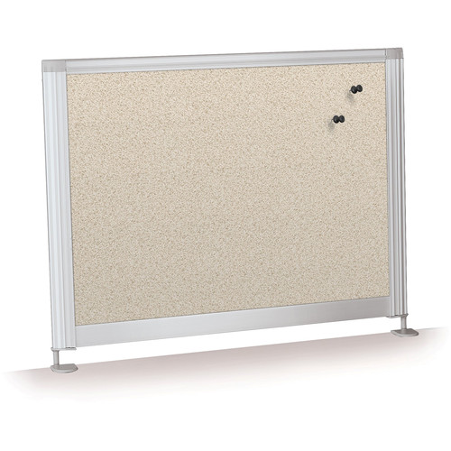 "Balt Desktop Privacy Panel (17 x 21.5"", Pebbles Vinyl)"