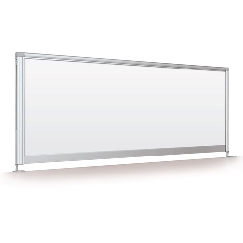 "Balt Desktop Privacy Panel (17 x 58"", Porcelain Steel)"