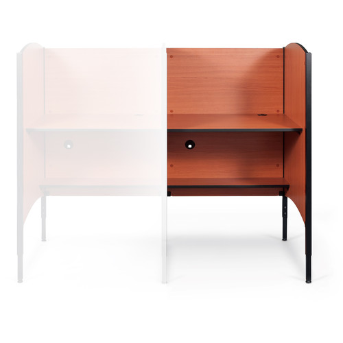 Balt Up-Rite Height-Adjustable Add-On Carrel