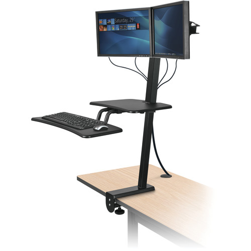 Balt Up-Rite Desk Mounted Sit and Stand Workstation (Dual Mount Unit)