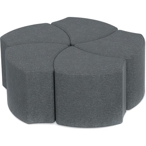 Balt Economy Shapes Upholstered Stool (Set of 5)