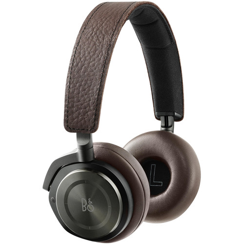 B&O PLAY by Bang & Olufsen B & O Play H8 Wireless Noise Canceling Headphones (Gray Hazel)