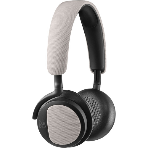 B&O PLAY by Bang & Olufsen H2 On-Ear Headphones (Silver Cloud)