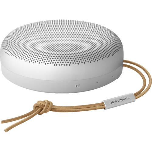 Bang & Olufsen Beosound A1 Portable Bluetooth Speaker (2nd Gen, Gray Mist)