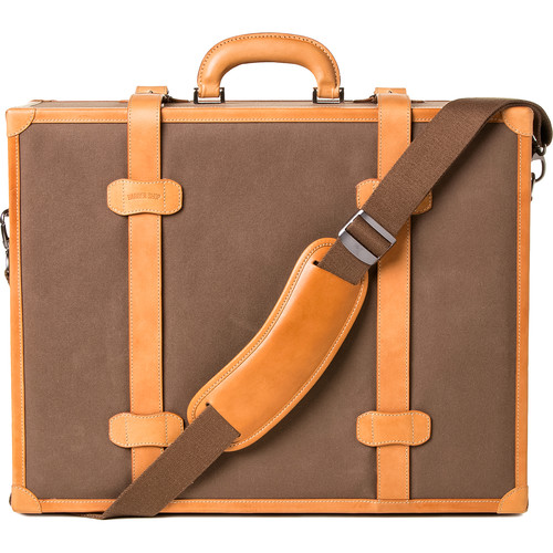 """Barber Shop Carry-On Hardcase """"Heritage"""" (Sand, Canvas and Leather)"""