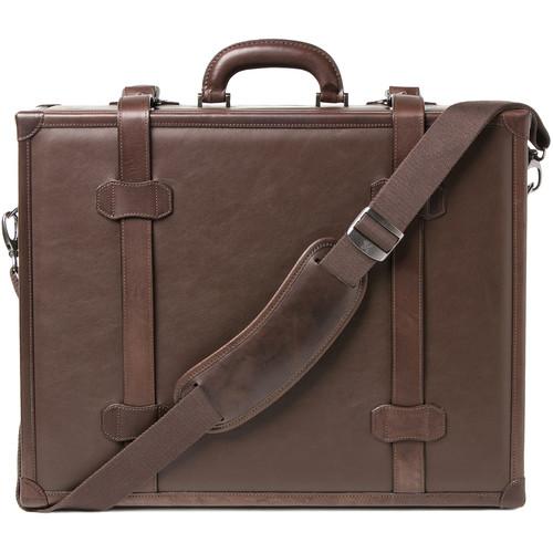"""Barber Shop Carry-On Hardcase """"Heritage"""" (Dark Brown, Leather)"""