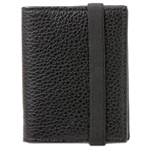 Barber Shop Pixie Leather Memory & Credit Card Organizer (Black)