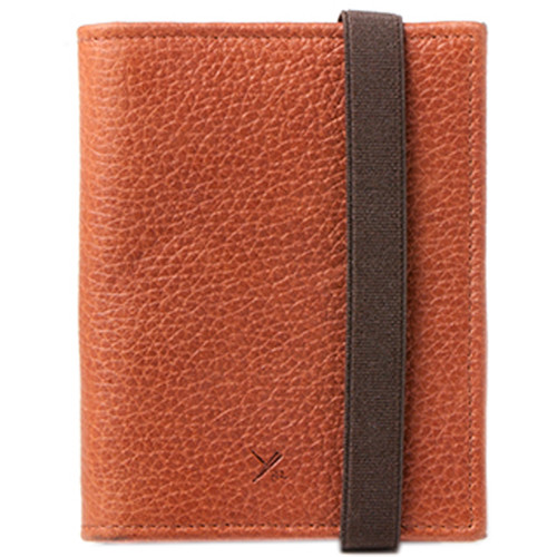 Barber Shop Pixie Leather Memory & Credit Card Organizer (Brown)